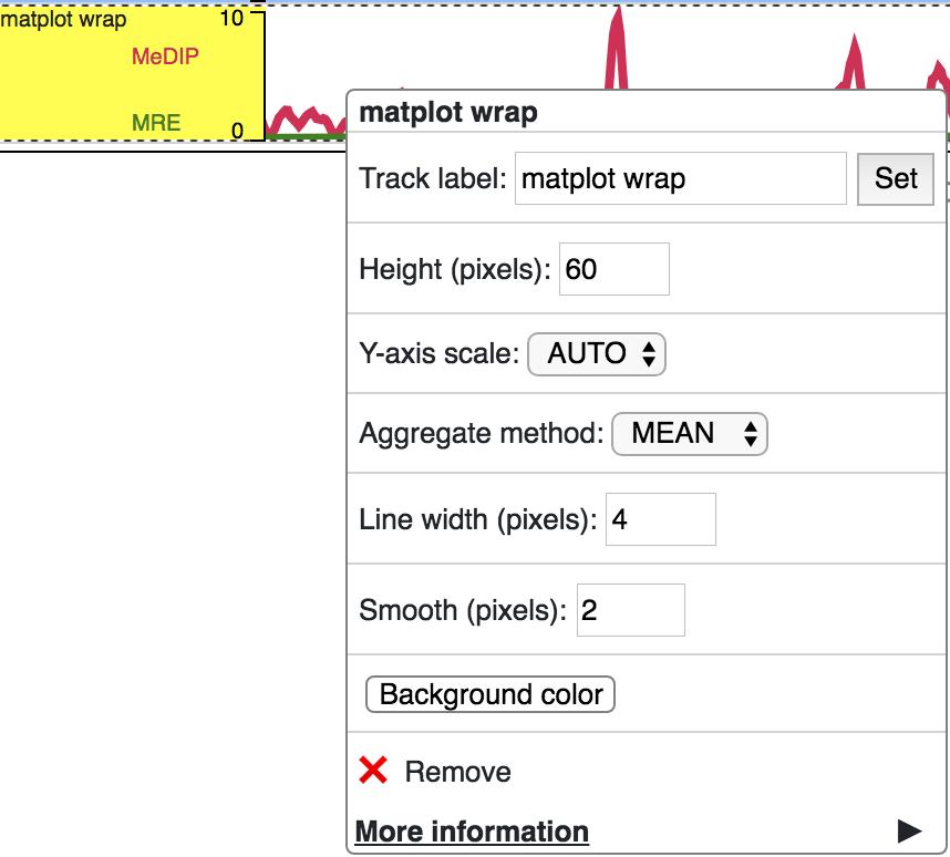 Tracks — WashU Epigenome Browser documentation